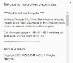 microsoftremote.co.in scam