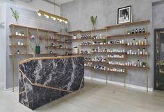 Salone di bellezza Davines nel cuore di New York - Elle Decor Italia