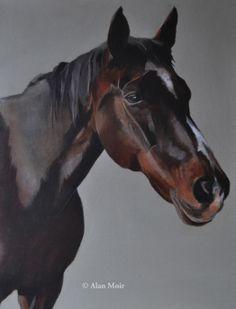 Alan Moir.  Kitko de St Jean - acrylic on canvas www.facebook.com/alan.moir.painter