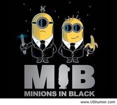 Funny Minion Quotes   Minions in black