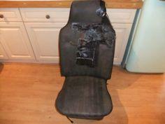 Old damaged seat