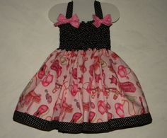 Toddler Twirly Cowgirl Dress, Western Print in Pink with Full Twirl Skirt, Available in sizes 3 month-T3 on Etsy, $53.30 CAD
