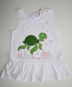 cocodrilova: camiseta tortuga marina #conjunto #camiseta #tortuga