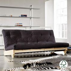 Sofá cama Fresh gris oscuro
