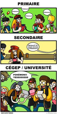 La vie de Pokémon. – Québec Meme +