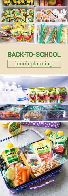 Lunches can be a headache—especially during back-to-school season. But, not anymore thanks to this Self-Serve Lunch Box Packing Hack! Check out this organization idea for helping your kiddos pack their own lunch. With help from the three new flavors of th Lunch Snacks, School Snacks, Lunch Box, Kid Lunches, Packing School Lunches, Snacks Kids, Lunch Menu, Lunch Time, Toddler Meals