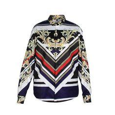 Fashion Design Printed Men Slim Fit Shirt Chemise Homme Long Sleeve Shirts  Casual Camisas Hombre Luxury Brand Mens Dress Shirts 759056ec7fb
