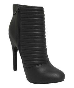 Look what I found on #zulily! Black Unna Boot #zulilyfinds