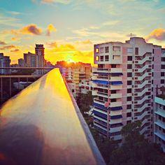#Condado | San Juan, Puerto Rico    Caribbean Sunset