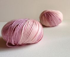 pink bamboo yarn ,cashmere and bamboo yarn,warm,soft. $12.00, via Etsy.