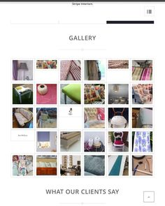 New website in work #excited need to start thinking about entries for the #blog #ideas