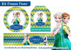 Kit festa frozen fever