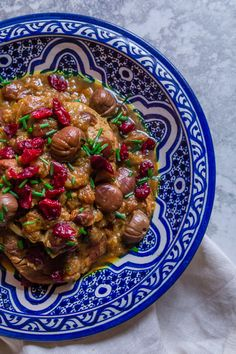 Turkey, Cranberry and Chestnut Tagine — My Moroccan Food Roast Me, Middle Eastern Recipes, Moroccan Recipes, Ethnic Recipes, Cooking Time, Food Hacks, Yummy Food, Yummy Recipes, Make It Simple