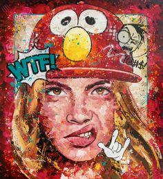 WTF Acrylic on Canvas 185cm x 205cm