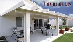 Insulated Patio Cover  http://www.westcoastawning.com/insulated_patio_cover.php