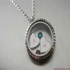 WRITE NAME ON Write Your Name On Two Heart Locket Online Free PICS