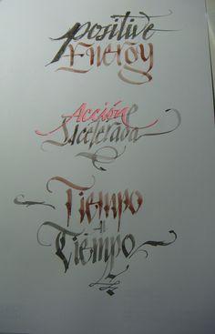 Calligraphy Types I