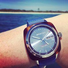 #mybriston #catalinaisland #snorkeling #holidays #briston #bristonwatches #clubmaster #sport #horizon #watch