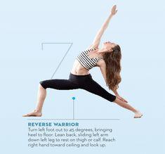 Tara-Stiles-yoga-workout-for-strength-reverse-warrior-pose