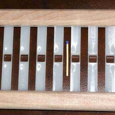 Ashford Webblatt 10/10 f. Rigid Heddle 40cm - Heikes Handgewebtes