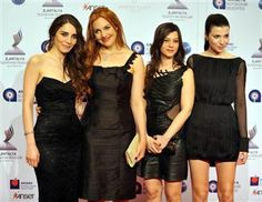 "the Ladies of "" Muhtesem Yuzyil "" or ""the Magnificent Century"" .. Turkish TV series"