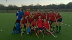 Nuestra escuadra de Hockey sobre césped en el Torneo Sin Colores 2014