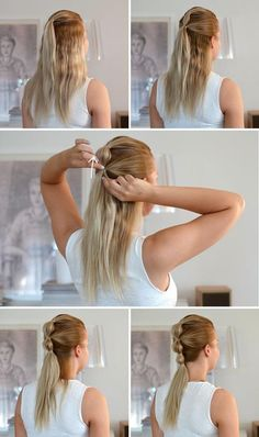 Favorite Ponytail Tutorials