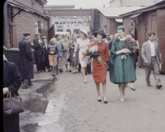 In 1959 French models and clothes of Fashion House Christian Dior arrived in Moscow for a fashion week. Soviet people of those times who had just survived the most awful war in history could never forget the beautiful ladies and their dresses. The French guests took some photographs that were even published in LIFE magazine. Soviet people were simply shocked by what they saw. It was written on their faces that were luckily photographed by Howard Sochurek.