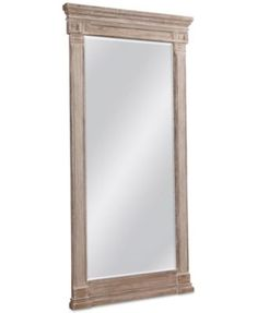 Marais Mirrored Floor Mirror | Mirror floor, Floor mirror and Bedrooms