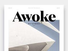 Awoke Magazine: Cover