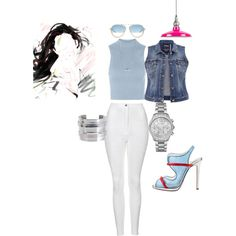 I AM JMADDD STYLES... by johncm on Polyvore featuring polyvore fashion style Topshop maurices Michael Kors BERRICLE Pieces 3.1 Phillip Lim Christian Louboutin
