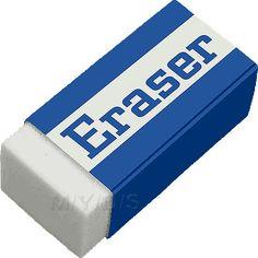rubber eraser Eraser Rubber clipart picture / Large Borradores Taller de costura