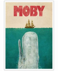 Moby als Poster von Terry Fan | Art. Everywhere.