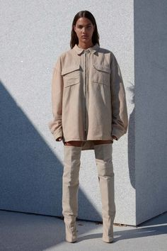 See the complete Yeezy Spring 2017 Ready-to-Wear collection.