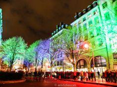 La fiesta de las luces en Lyon Francia.  http://aristofennes.com/fiesta-de-las-luces-viajar-lyon-francia/