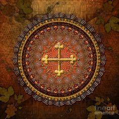 Mandala Armenian by Bedros Awak