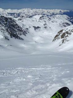 The top of glacier du borgne after the trek up - worth it though