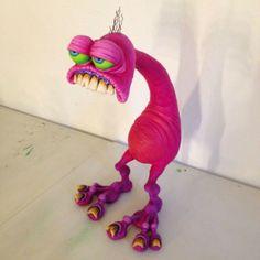 #br1monsters #monster #alien #spacemonster #sculpture #supersculpey #custom #ratfink #ratfinkcustoms
