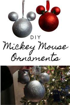 Mouse Ear Ornaments