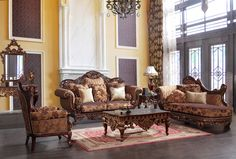 Maywood Formal Living Room Set