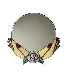 The Fortune Teller Mirror by mindandmineral on Etsy