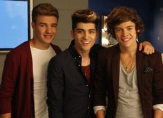 liam zayn and harry<3