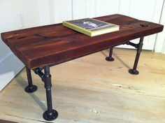 Industrial Style Table Legs | Iron legs...support heavy table