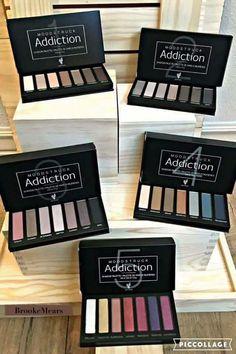 Younique Moodstruck Addiction shadow Palette - Your choice Younique Images, Cadeau Client, Fiber Lash Mascara, Mascara Tips, Younique Presenter, Tips Belleza, Beauty Bar, Eyelash Extensions, Wii