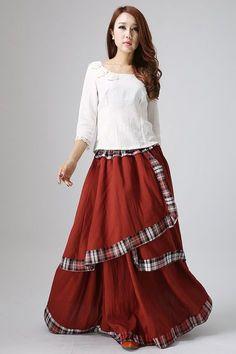 Skirts for Women-Maxi Skirt-Boho Chic-Long Skirt-Bohemian