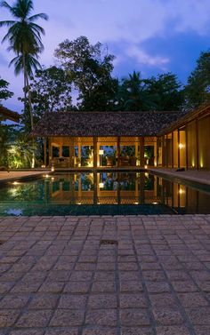 A former 19th century Dutch mansion, Maya has been lovingly converted into a stunning countryside retreat where guests can experience the charms of Sri Lanka's famed Southern Coast. #Indistay | Maya, Sri Lanka