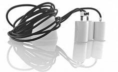 Nowoczesne oświetlenie dekoracyjne lampy loft czarne kolorowe kable. http://www.sklep.imindesign.pl/product/lampy-wiszace-kable-w-oplocie-czarnym-3-x-2-5m