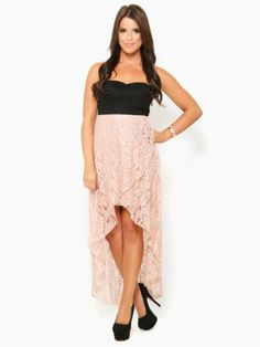 Floral Dance High-Low Dress