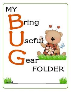 FREE! This set is great for teachers who share the same classroom, yet have different students. Here is a set of colorful, kid-friendly, bug themed resou...
