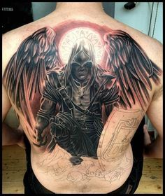 Unbelievable #Assassin'sCreed tattoo.